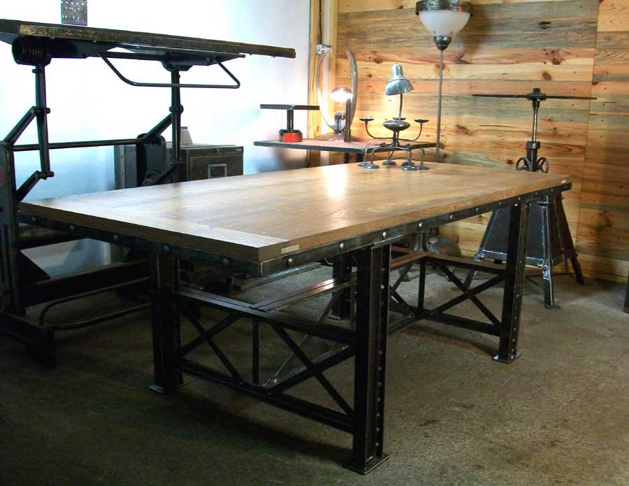 elegant image of table indus - table salle manger - table salle manger