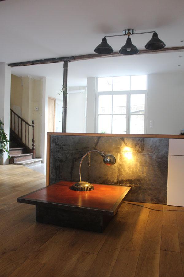 table basse beton cire. Black Bedroom Furniture Sets. Home Design Ideas